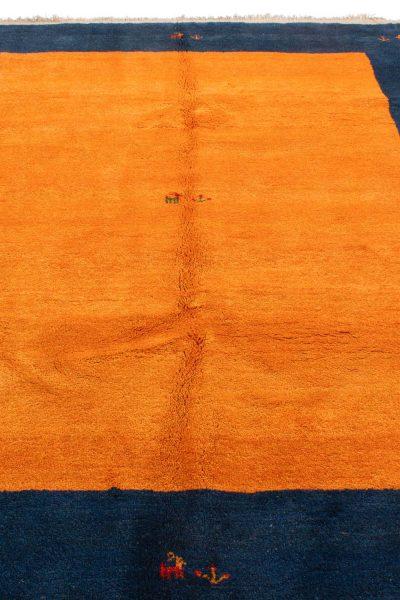 Perzisch Gabbeh Blauw Oranje 176x276 cm 10084 A434