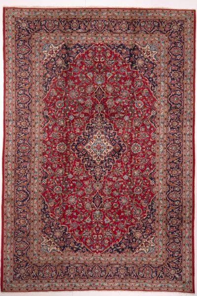 Perzisch tapijt keshan 5212 wol rood19