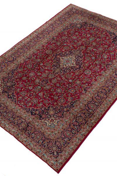 Perzisch tapijt keshan 5212 wol rood2