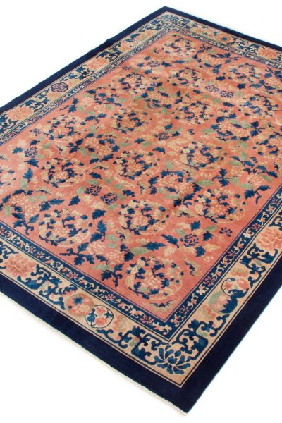 Semi Antiek Chinese Peking tapijt 275x349 cm 7909 A252