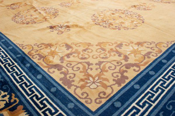 Semi Antiek Chinese Peking tapijt 280x370 c14