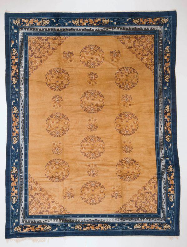 Semi Antiek Chinese Peking tapijt 280x370 c22