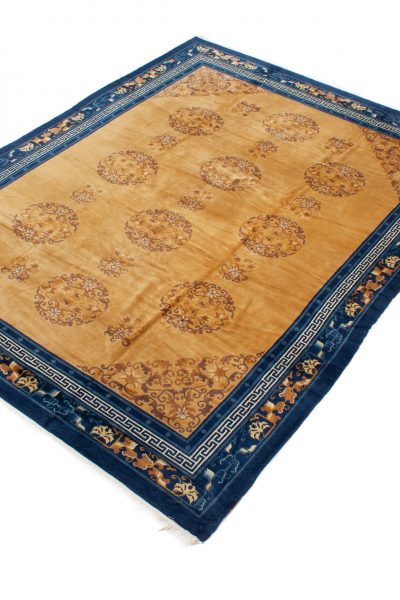 Semi Antiek Chinese Peking tapijt 280x370 c3