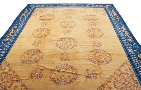 Semi Antiek Chinese Peking tapijt 280x370 c4