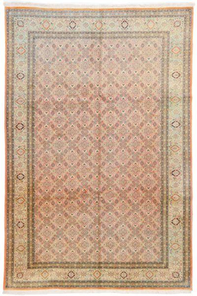 Tabriz Mahi Oranje groen 60 Raj 193x303 cm 7107 A4315 copy
