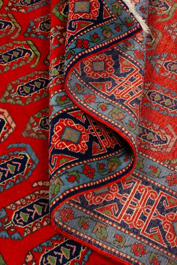 handgeknoopt tapijt 10261 Kazak rood 10