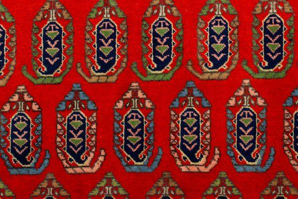 handgeknoopt tapijt 10261 Kazak rood 7