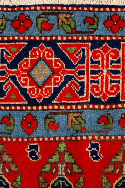 handgeknoopt tapijt 10261 Kazak rood 8