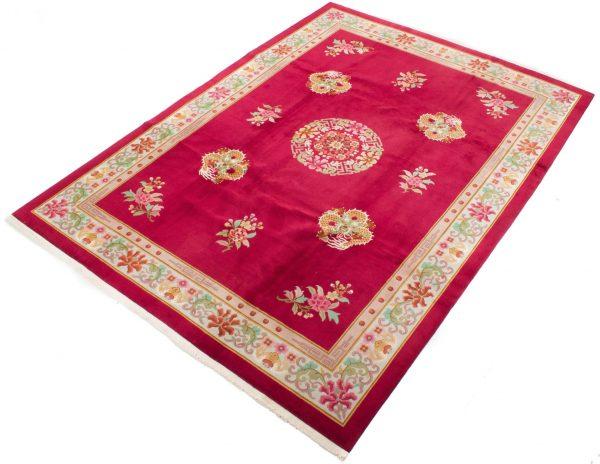 handgeknoopt tapijt china 7621 rooz 2