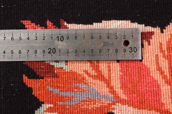 handgeknoopt tapijt china 8253 knoopdichtheid wol bladeren 10