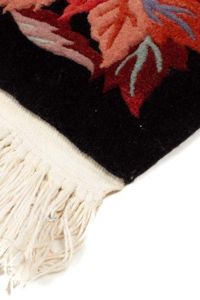 handgeknoopt tapijt china 8253 wol bladeren 7