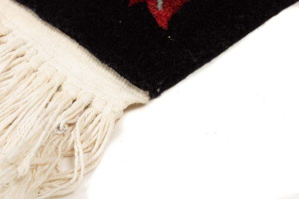handgeknoopt tapijt china 8253 wol bladeren 8