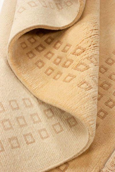 handgeknoopt tapijt nepal 8256 beige wol 11