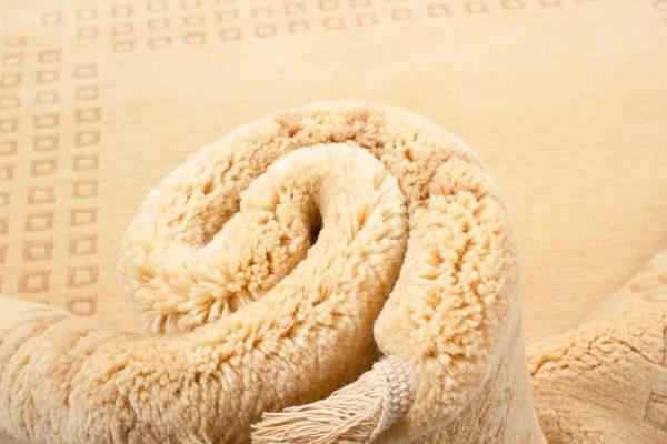 handgeknoopt tapijt nepal 8256 beige wol 12