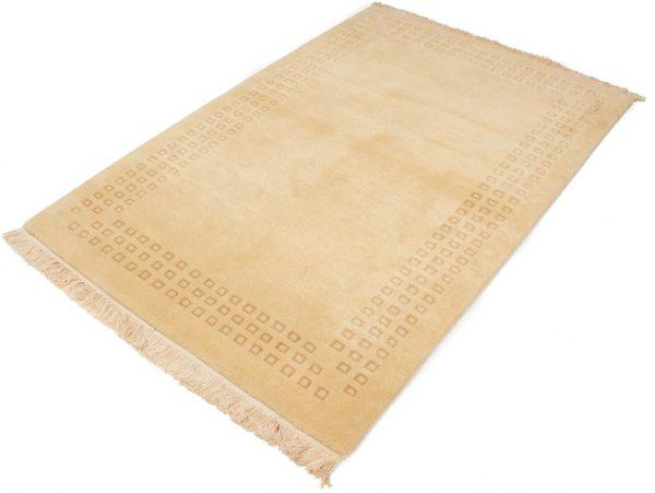 handgeknoopt tapijt nepal 8256 beige wol 2
