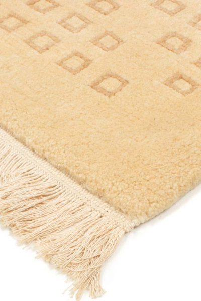 handgeknoopt tapijt nepal 8256 beige wol 3