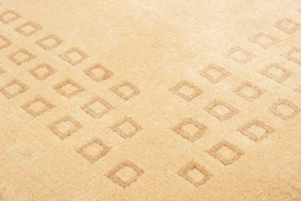 handgeknoopt tapijt nepal 8256 beige wol 5