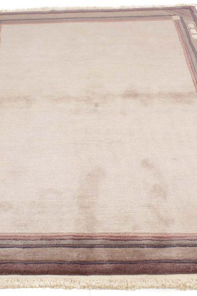 handgeknoopt tapijt nepal 8257 grijs wol 3