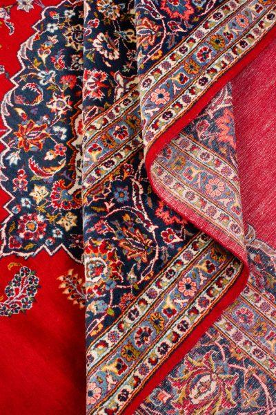 perzisch tapijt keshan 5866 wol rood 18