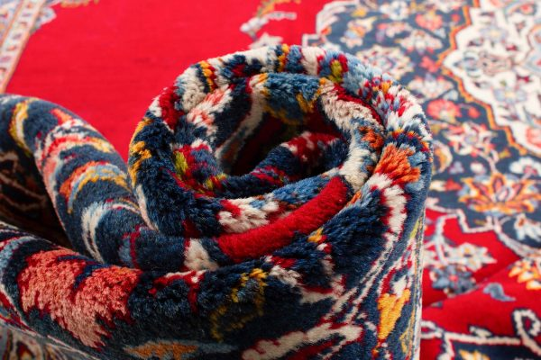 perzisch tapijt keshan 5866 wol rood 19