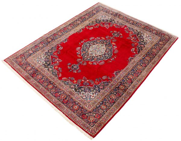 perzisch tapijt keshan 5866 wol rood 3