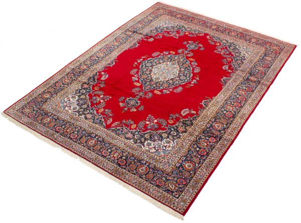 perzisch tapijt keshan 5866 wol rood 4