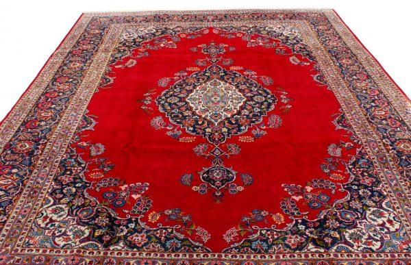 perzisch tapijt keshan 5866 wol rood 5