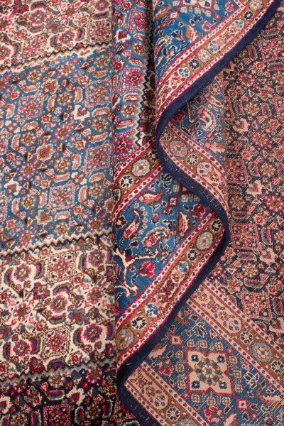 perzisch tapijt moud 7478 handgeknoopt wol 14