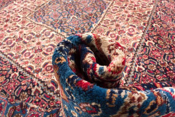 perzisch tapijt moud 7478 handgeknoopt wol 16