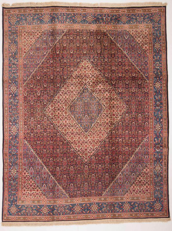 perzisch tapijt moud 7478 handgeknoopt wol 18 2