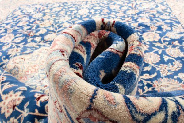 perzisch tapijt nain 7179 beige blauw17