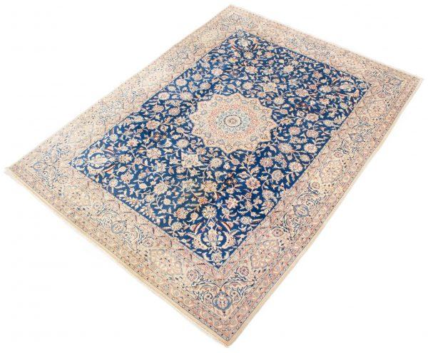 perzisch tapijt nain 7179 beige blauw3