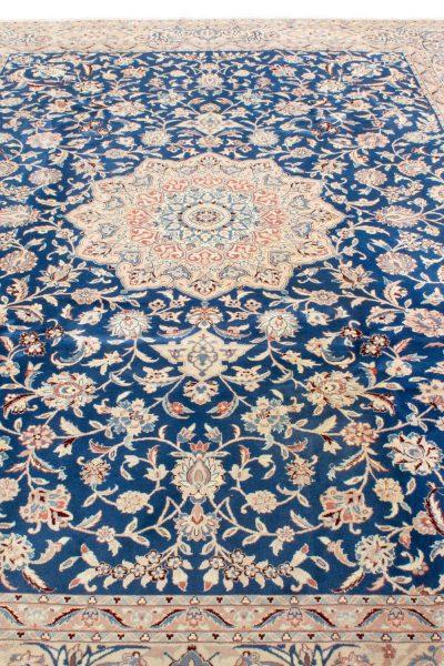 perzisch tapijt nain 7179 beige blauw4