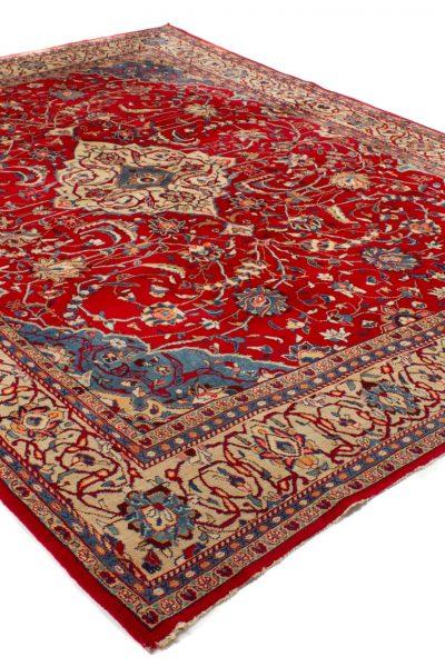perzisch tapijt sarough 7779 rood wol handgeknoopt3