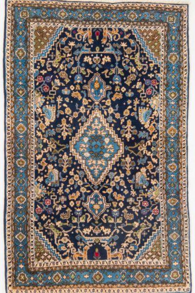 Handgeknoopt vintage Perzisch tapijt Sarough 125x200 cm 9
