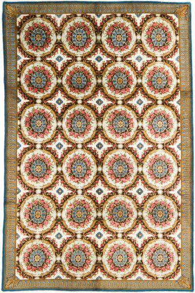 Indiaans Aubusson tapijt 200x300 cm 7133 B357