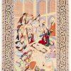 Isfahan tapijt getekend 106x175 cm10
