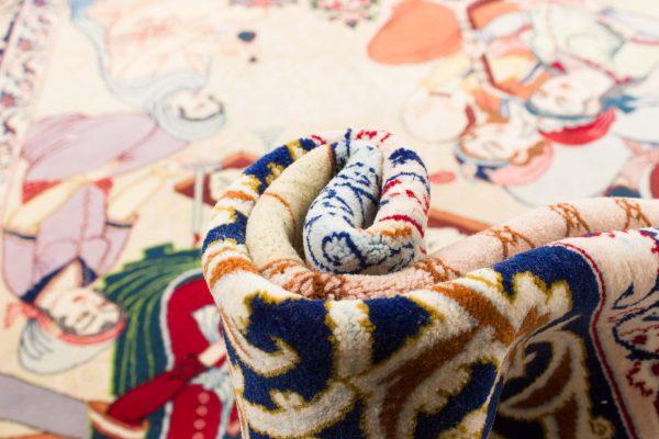 Isfahan tapijt getekend 106x175 cm8