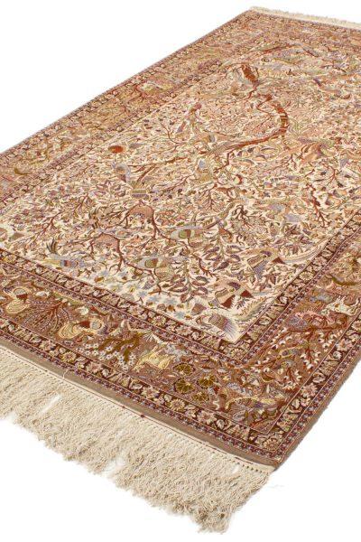 Isfahan wol en zijde op zijde 160x255 cm 1