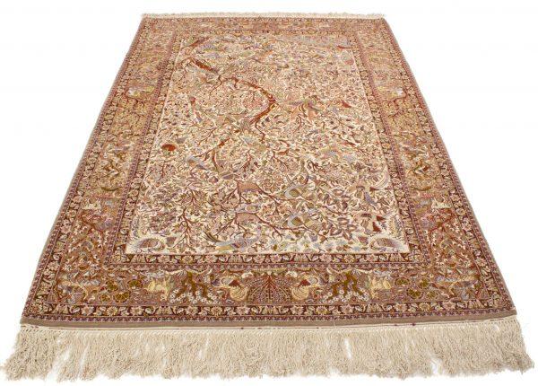 Isfahan wol en zijde op zijde 160x255 cm 2