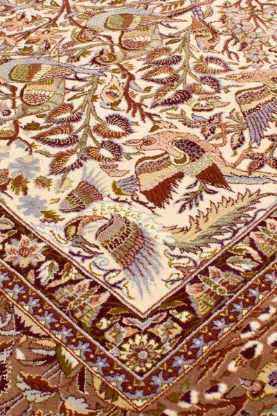 Isfahan wol en zijde op zijde 160x255 cm 4