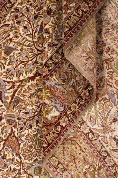 Isfahan wol en zijde op zijde 160x255 cm 5