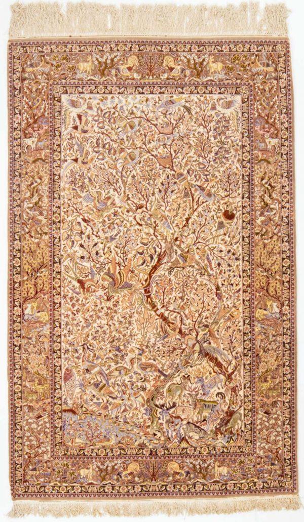 Isfahan wol en zijde op zijde 160x255 cm 7