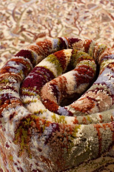 Isfahan wol en zijde op zijde 160x255 cm 8