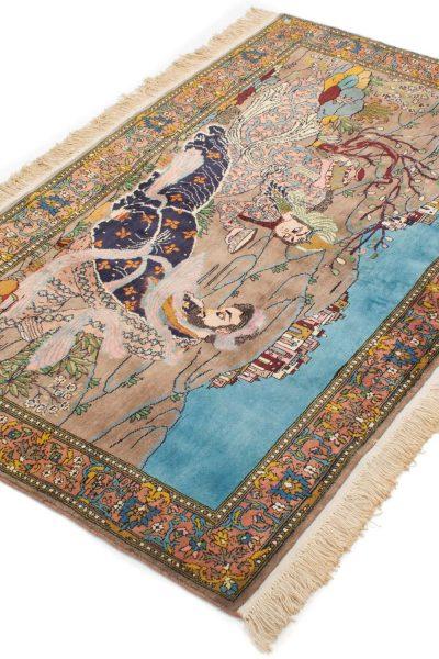 Kashmir tapijt Pakistan 97x153 cm 8435 A342