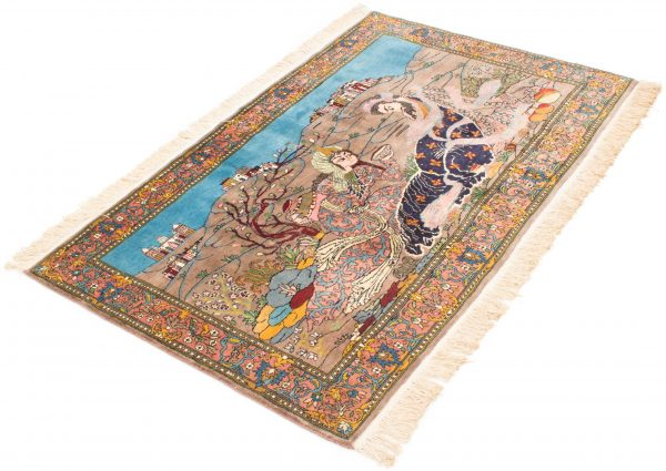 Kashmir tapijt Pakistan 97x153 cm 8435 A343
