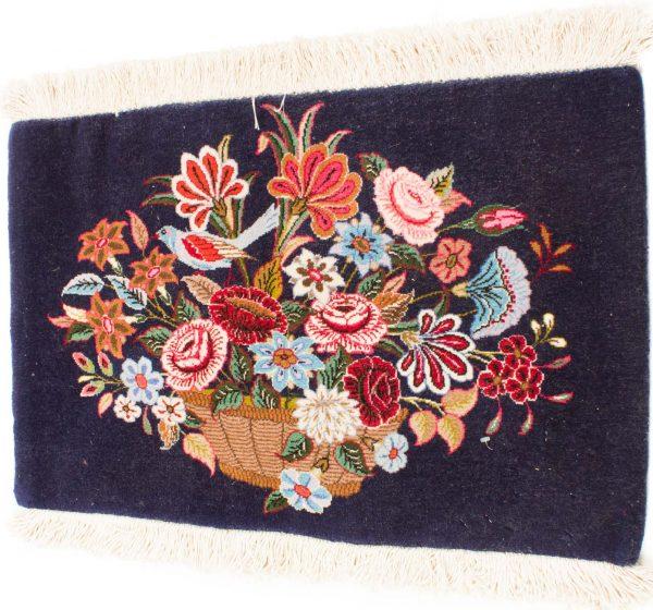 Perzisch Qum tapijt 43x72 cm 8424 B355