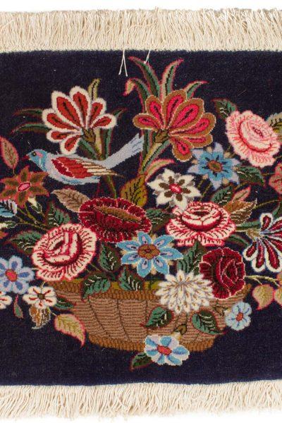 Perzisch Qum tapijt 43x72 cm 8424 B356