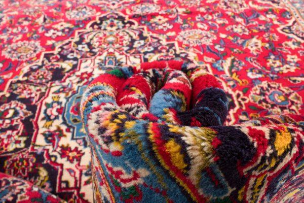 Perzisch tapijt Kashan 268x353 cm 7601 B339