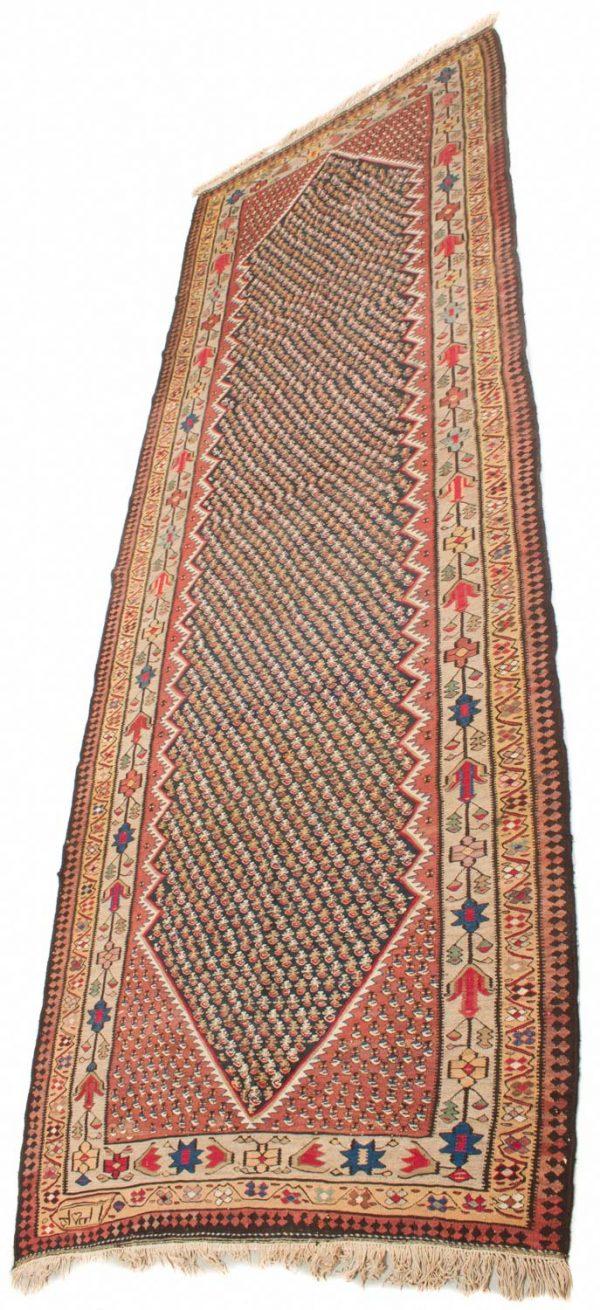 Perzische Senneh Kelim 170x445 cm 2